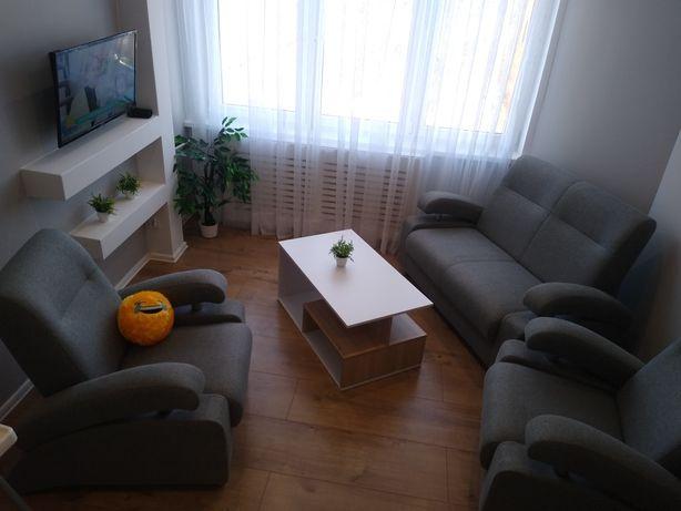 Zestaw wypoczynkowy komplet fotele kanapa