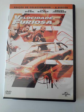 Filme Dvd Velocidade Furiosa 5 como novo