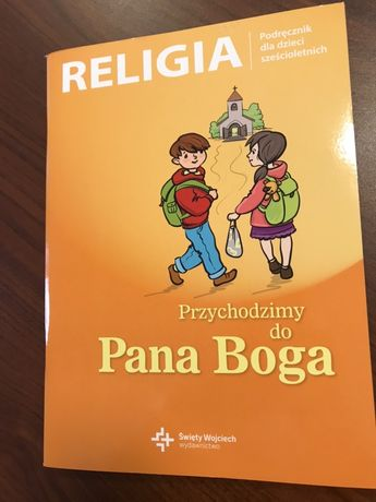NOWY Podręcznik Religia do zerówki  kl. 0 św. Wojciech