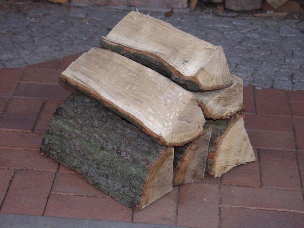 Drewno kominkowe Dąb opałowe drzewo do kominka nasypowe