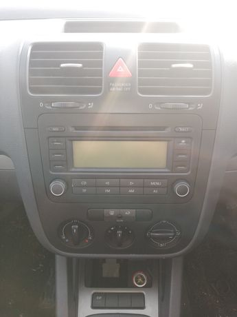 Oryginalne radio CD 6 płyt VW Golf V