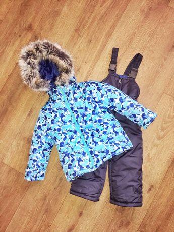 Зимний костюм, комбинезон, полукомбинезон, теплый
