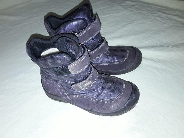 Термо ботинки Elefanten 18 см, шерсть, кожа, полусапожки, сапоги.