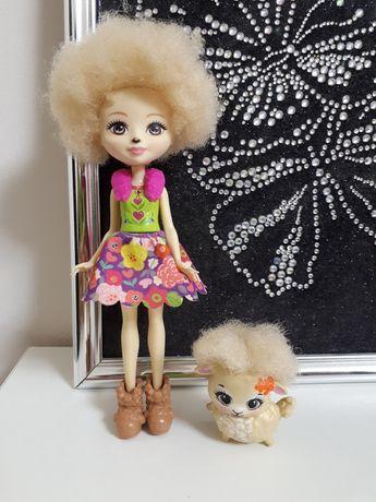 Лялька кукла enchantimals ягненок лорна овечка