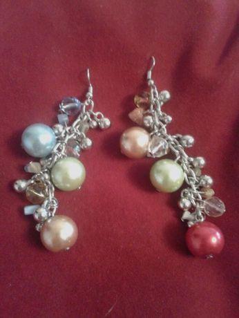 Набор бижутерия ожерелье серьги