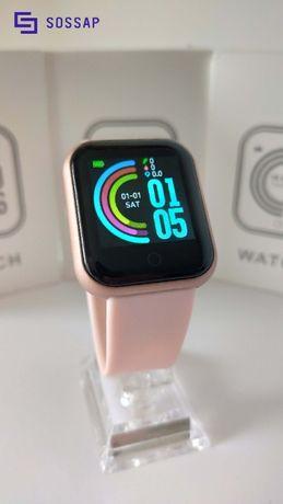Relógio Inteligente Y68 - Pink Model