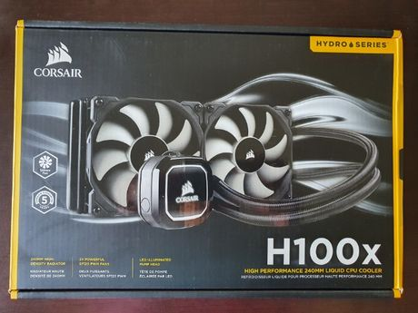 Water Cooler Corsair Hydro H100x Kit de Watercooler (Selado)