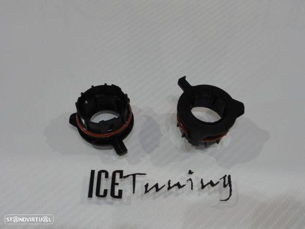 Adaptador, Ficha, Socket, suporte de lampada de xenon ou led H7 para Mercedes classe E W211 02-06