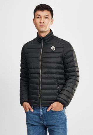 Karl Lagerfeld kurtka puchowa męska rozmiar 52 L 100% oryginał