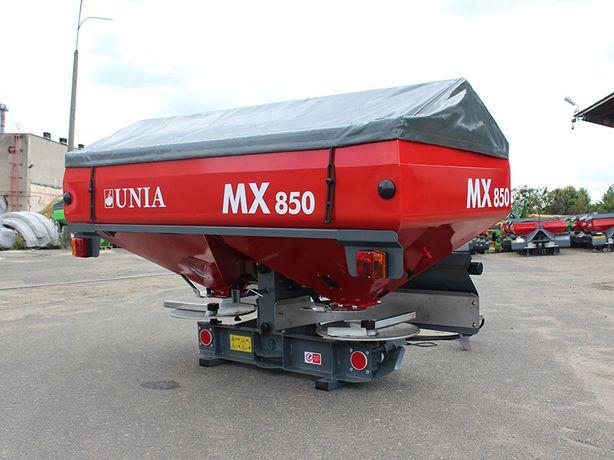 Rozsiewacz nawozu dwutarczowy MX 850 - Unia Group