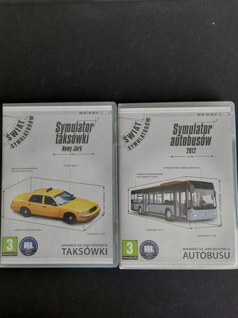 Gry pakiet PC symulator autobusu i taksówki