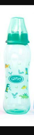 Новая бутилочка для кормления Линдо бутылка соска пляшечка Lindo 250мл