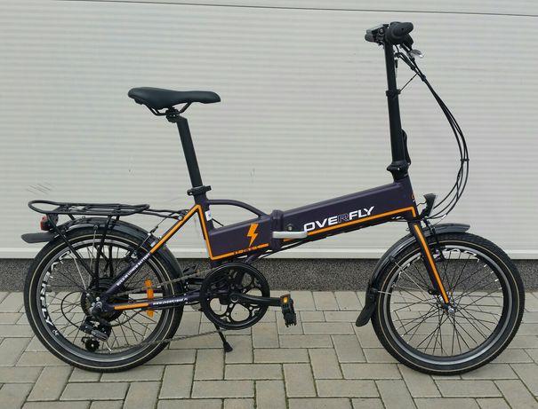 Rower elektryczny Overfly Zing składak bat.11,6Ah shimano 48-0013