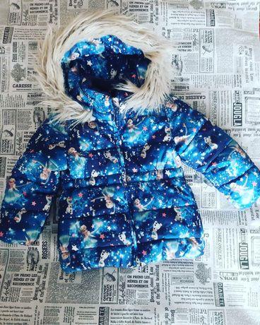 Куртка зима 92-98 ельза і лаф