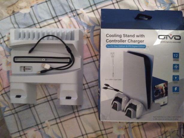 Vendo cooling satand with controller carger