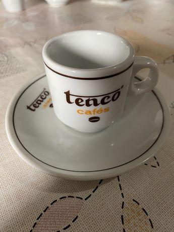 Conjunto Chávena + Pires Tenco Cafés