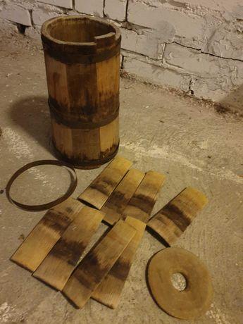 Stara Maselnica drewniana, tarka, zabytek, PRL
