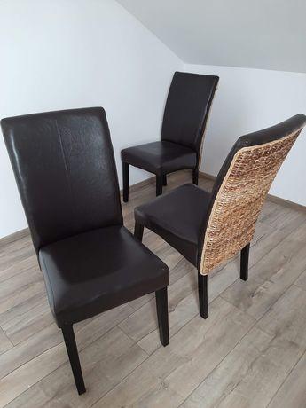 Krzesła 4 szt do jadalni
