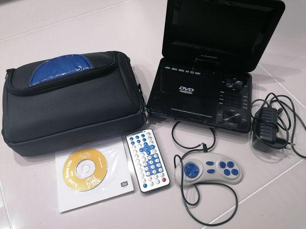 Przenośny odtwarzacz DVD MANTA
