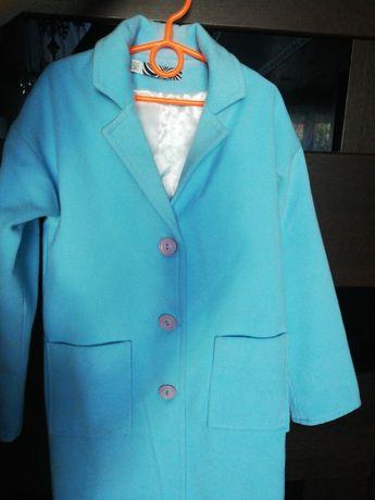 Кашемировое пальто. Рост 134