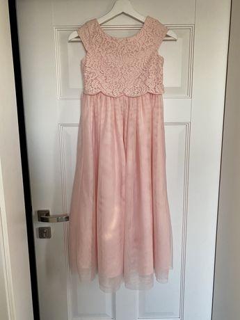 H&m sukienka 134 Komunia ślub
