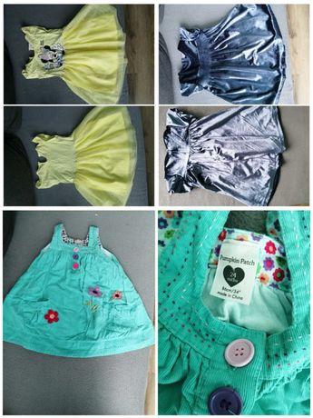 Sukienki dla dziewczynki 86