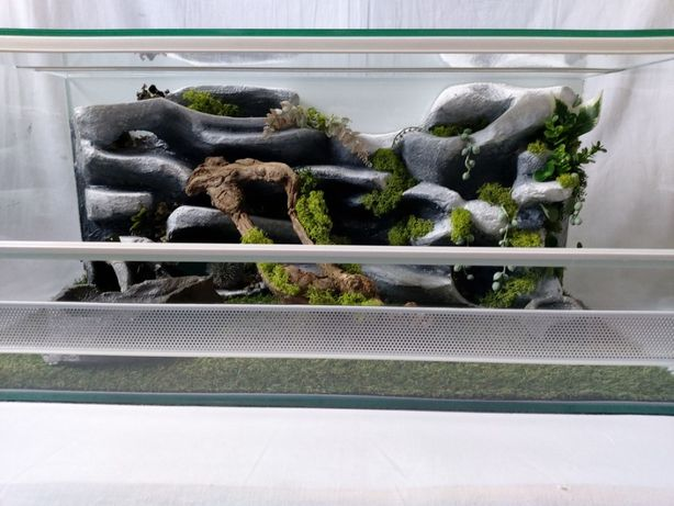 Terrarium AquaWaves nr.kat.TW13KA (wąż jeż gekon lamparci agama żółw)