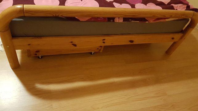 Łóżko sosnowe 160x200