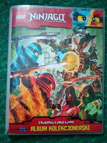 Karty LEGO Ninjago plus album kolekcjonerski