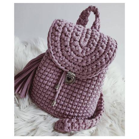 Szydełkowy Plecak [Handmade]