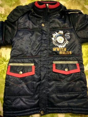 Куртка, парка на рост 134-140 см