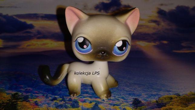 LPS shorthair #5 UNIKAT oryginał Littlest Pet Shop magnes oryginalny