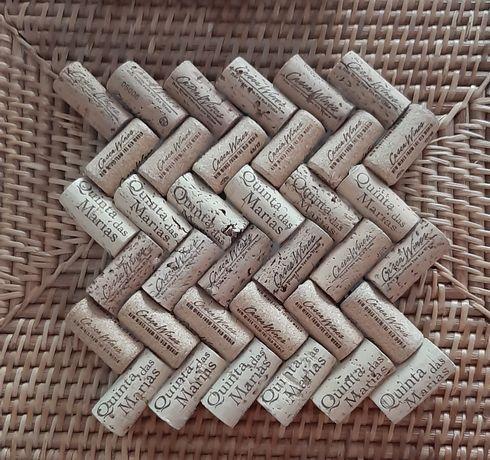 Proteção de mesa para tachos/panelas/travessas em cortiça