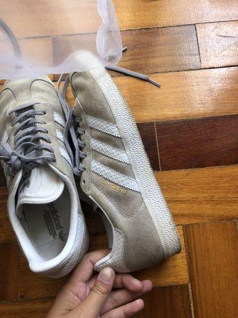 Adidas Gazelle Cinzentas 38