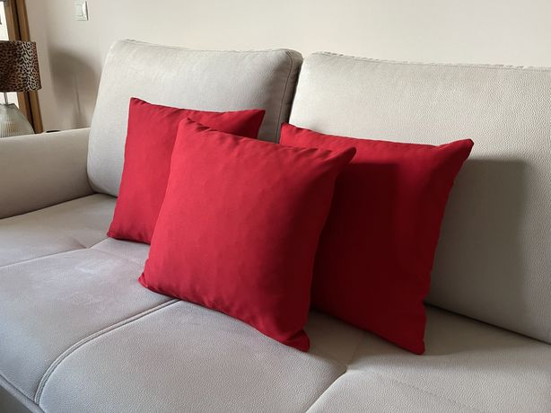 Conjunto de 3 almofadas decorativas