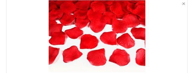 PIĘKNE PŁATKI RÓŻ 100szt 4 kolory Dekoracja Ślub