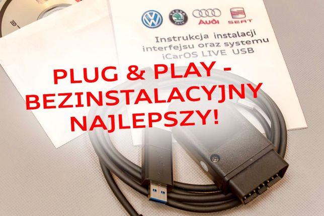 Mega ZESTAW! VCDS polski + USB komp mechanika