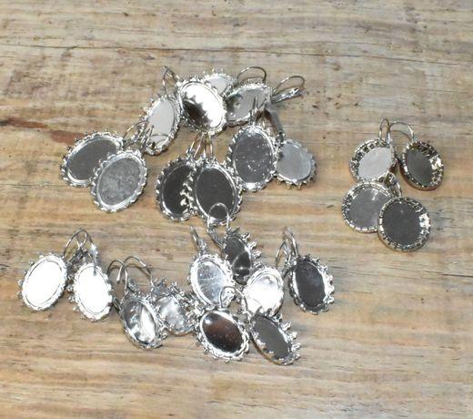 Material bijutaria - bases brincos - 30 pares