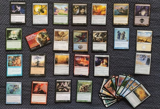 120 Cartas Magic the Gathering - Raras e Holográficas Incluídas