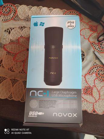 Novox NC-1 - mikrofon pojemnościowy USB