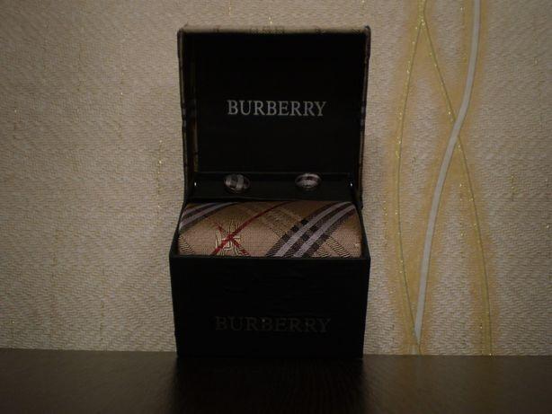 УВАГА!!! Подарунковий подарочный набір набор Барбери Burberry Шелк