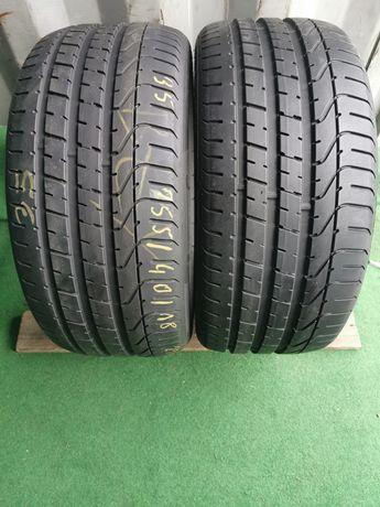 Opony Pirelli P Zero 255/40/18 jak nowe