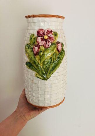 Wazon, porcelana włoska, 30 cm