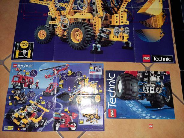 Lego unikatowe duże plakaty plus ksiażeczka old kg