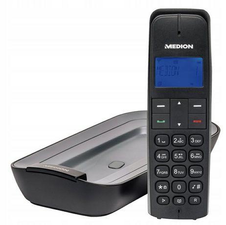 Telefon stacjonarny z sekretarką MEDION LIFE
