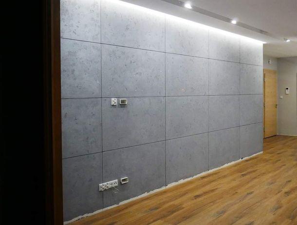 Gładzie Malowanie Płytki Sufity Podwieszane Tynki dekoracyjne panele