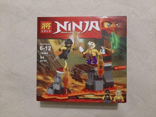 Конструктор NINJA Masters of Spinjitzu Lele 79084, 94 детали