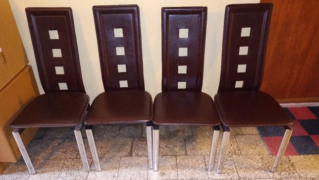 4 Krzesła HALMAR model K4 stan db+