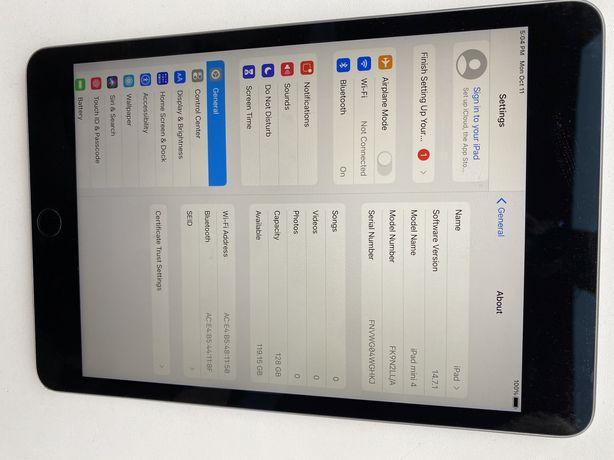 Планшет iPad mini 4 128gb wifi