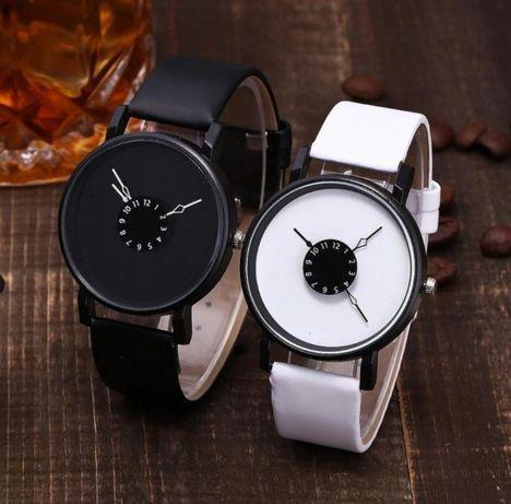 Хит! Модные женские и мужские часы кожаный ремешок (Разные Цвета)